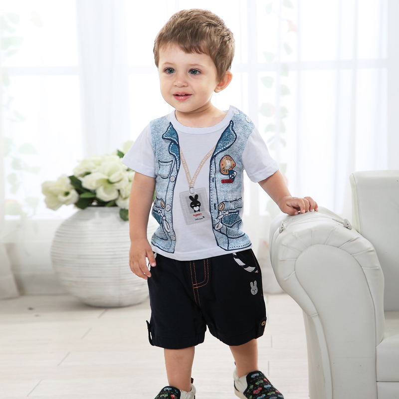 Boy summer baby clothes 6 12 months old baby boy summer 1 ...