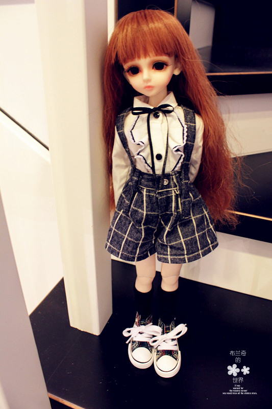BJD / SD doll clothes / baby clothes ladies uniforms suit, skirt pants for 1/6 1/4 1/3 Bjd Doll 1