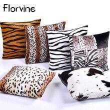 Wholesale Decorative Cushion cover Small Plush Pillow Cover Cushions Home Decor Fur Pillows Case Bedroom Sofa Housse De coussin