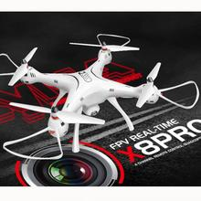Syma X8PRO GPS RC Headless Quadcopter WIFI FPV Drone Real Time HD 0.3MP Camera