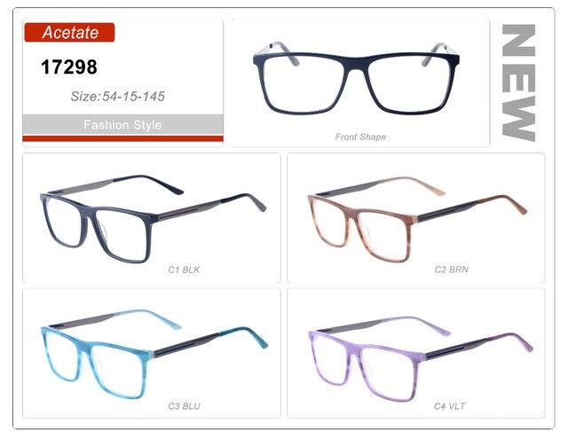 027dd95bd3 Gafas de sol rectangulares para hombre, venta al por mayor, gafas, monturas  azules