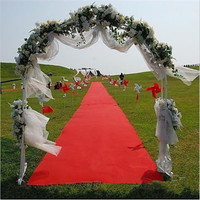 16ft Celebrity Floor Runner Red Carpet Party Wedding Disposable Scene Decoration