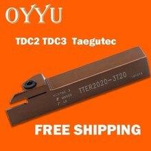 Oyyu TTER1212-2T12 TTERER1616-2T17 TTER1616-3T20 TTER2020-2T17 TTER2020-3T20 пружинной стали использовать карбида Taegutec вставка TDC3 TDC2