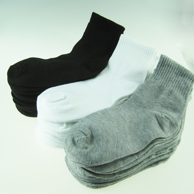 1pair Hot Men's Socks 3 Colors Autumn Winter Casual Leisure Socks For Men Unisex Outdoors Comfortable Sock Men Meias Homens
