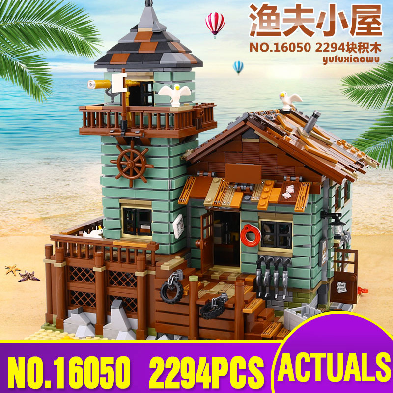 Lepin 16050 Genuine  MOC Series The Old Finishing Store Set legoing 21310 Building Blocks Bricks Education Toy Gift for Children the little old lady in saint tropez