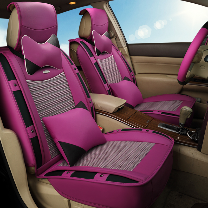 3d sports car seat cover cushion ice silk general cushion for ford edge escape kuga fusion. Black Bedroom Furniture Sets. Home Design Ideas