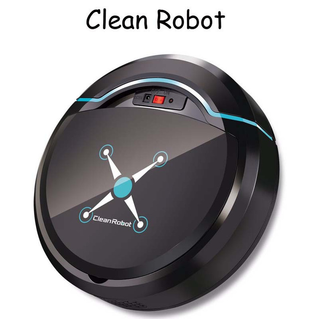 Rechargeable Auto Cleaning Robot Smart Sweeping Robot Floor Dirt Dust Hair Automatic Cleaner For Home Electric Vacuum Cleaners