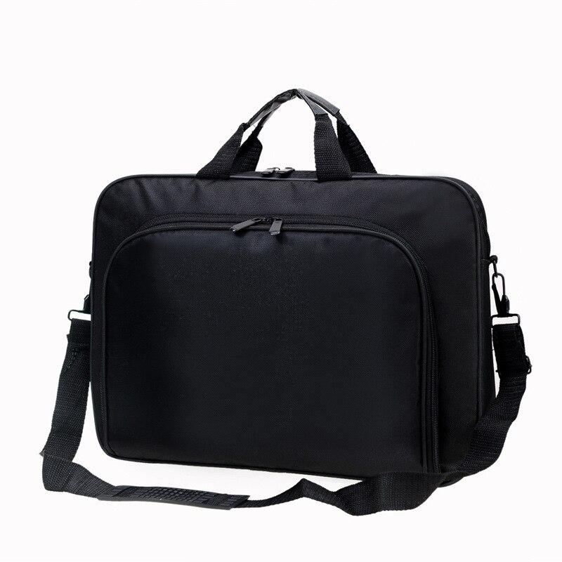 2018 Laptop Briefcase Bag Handbag Mens Nylon Black Casual Briefcase Men's Office Messenger Bags Business Travel Computer Bags new men 14 inch laptop briefcase bag waterproof handbag mens nylon briefcase men s office bags business computer bags