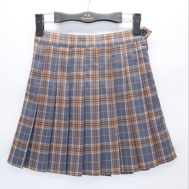 b76cdfb23e Women Girls Short High Waist Pleated Skater Tennis Skirt School Skirt  Uniform With Inner Shorts Sport