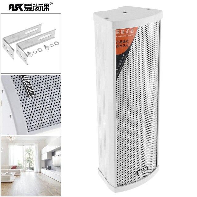 20W 3 Inch Mini Rectangular Outdoor Wall Mount Waterproof Speaker Public Broadcast Music Loudspeaker for School Shopping Mall