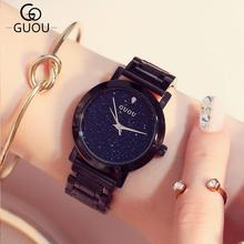 Star Sky Ladies Watches Women Top Famous Luxury Brand Casual Quartz Watch Female Watches Girl Wristwatches Relogio Feminino HOT цена