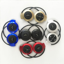 цена на 503 Mini Bluetooth Headphone W/Handsfree MP3 Player Wireless Stereo Sport Headset Support TFCard FM Headband Headphone