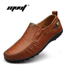 Лучшие качества мужчины квартиры обувь из натуральной кожи мужчины обувь ручной работы мокасины Мокасины, плюс размер вождения обувь zapatos hombre