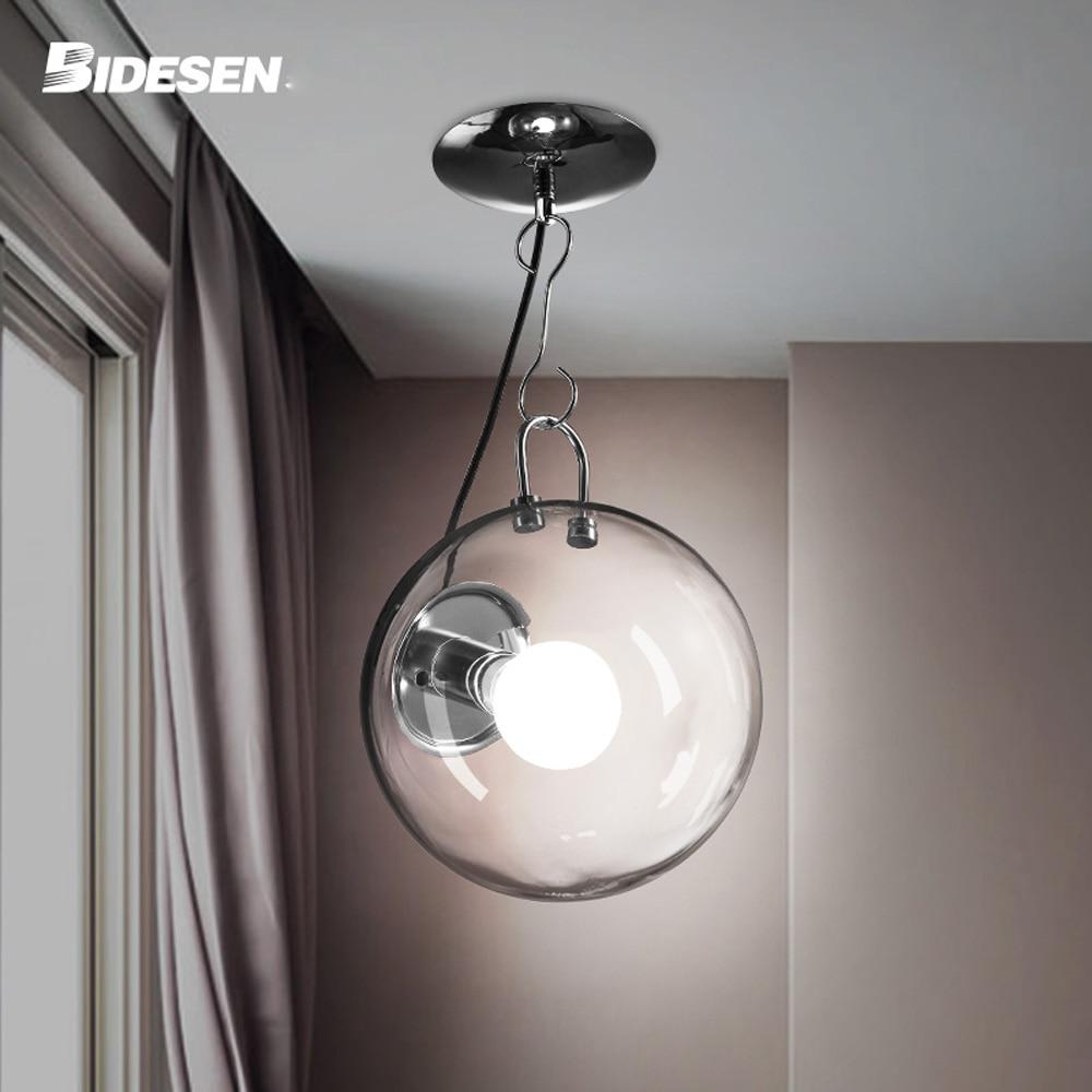 Aliexpress Italienische Transparentem Glas Seifenblase Schlafzimmer Deckenleuchte Wohnzimmer Kreative Modernen Speisesaal