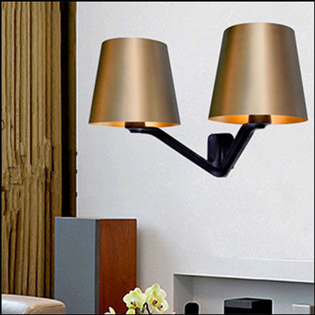 Aliexpress.com : Buy 2015 New Design England Bedroom Wall Lamp Personality Metal Art Wall Light ...