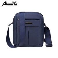 2018 Amarte Man Fashion Messenger Casual Bags Nylon Crossbody Soild Bag Men S Shoulder Bag Multifunction