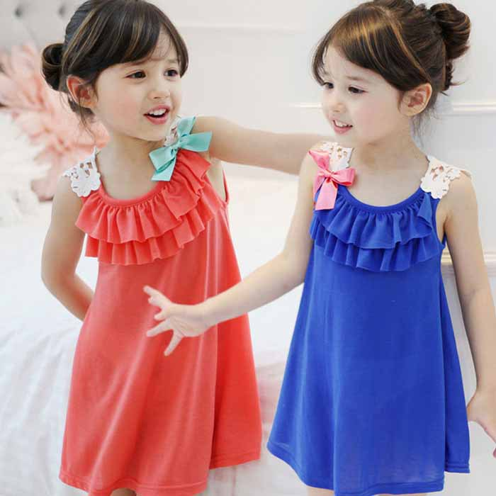 clearance Girls Summer Dresses 2016 toddler girl clothes