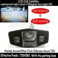 CCD ночного видения водонепроницаемые автомобиля обратный резервное копирование парковка заднего вида камера заднего вида ДЛЯ Honda Accord Pilot Civic Odyssey Acura TSX
