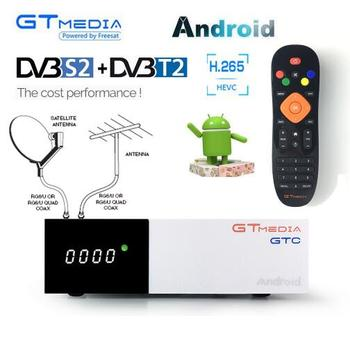 Freesat GTC Receptor DVB T2 DVB-S2 DVB-C Amlogic S905D Satellite TV Receiver bt4.0 android 6.0 TV BOX IPTV M3U CCAM smart tv Box цена 2017