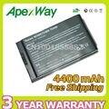 Apexway 4400 мАч 6 cell Аккумулятор Для Ноутбука HP 4200 NC4200 NC4400 TC4200 TC4400 381373-001 383510-001 HSTNN-IB12 HSTNN-UB12 PB991A
