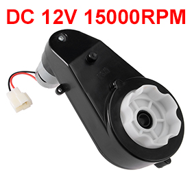 Uxcell(R) Hot Sale 1Pcs 550 DC 12V 15000RPM High Speed Gearbox Drive Engine Motor for Power Wheels Electric Ride on Car цены онлайн