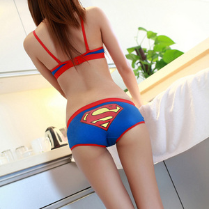 Brand cotton cartoon underwear women panties sexy underpants shorts womens lingerie Low waist briefs tangas bragas cute pant hot(China)