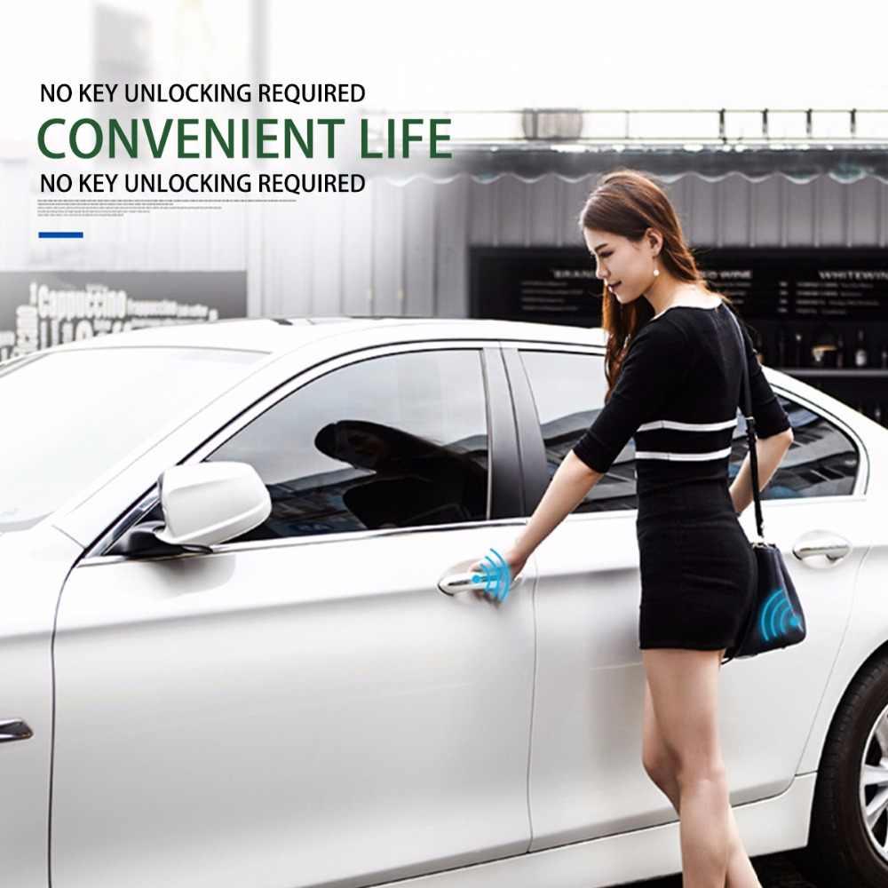 Abertura Tronco Remoto Universal Chave Inteligente On/Off Travamento Central Keyless Entrada de Alarme de Carro Auto para o Telefone Móvel/ desbloquear Com APP