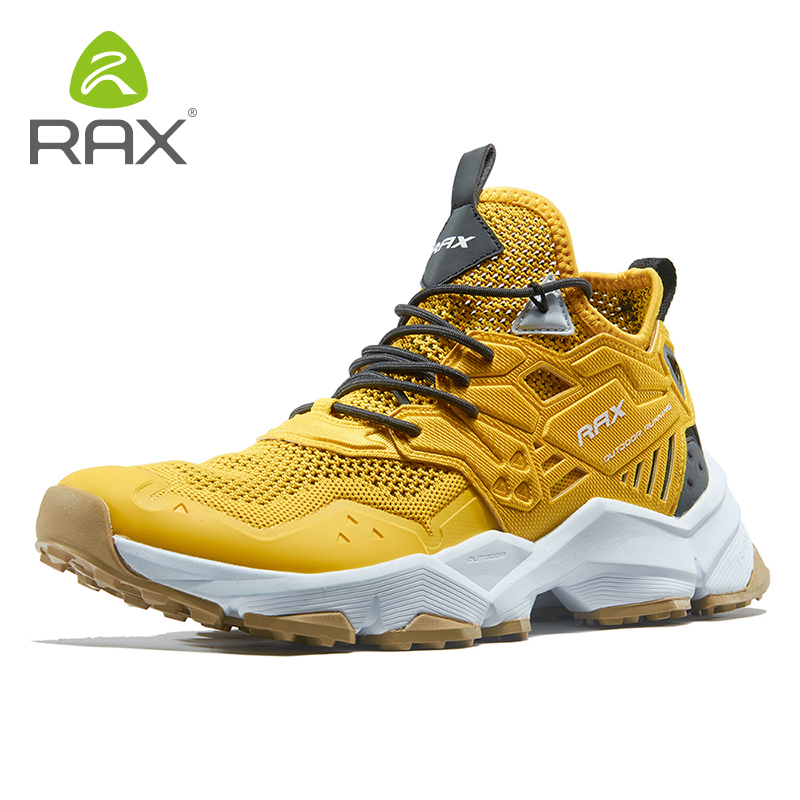 Rax Men Hiking Shoes Breathable Outdoor Sports Sneakers for Men Lightweight Mountain Climbing Trekking Shoes Lightweight