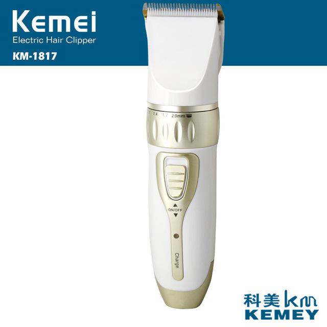 T109 kemei clipper trimmer eléctrico del corte de pelo profesional cortador de pelo corte de pelo máquina de hogar recargable trimmer para hombres