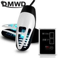 DMWD Electric Shoes Dryer UV Odor Deodorant Drier Ultraviolet Shoe Sterilizer Antiperspirant Bake Feet Boot Drying Heater Warmer