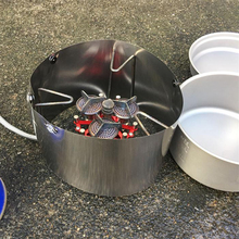 MagiDeal Windproof Camping Gas Cooker Stove Windshield Picnic Outdoor Wind Screen for Camping Picnic BBQ Garden Party цены