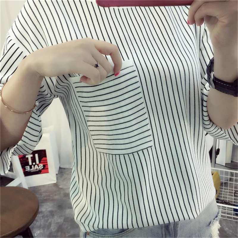 Préférence New Fashion 2017 New Simple Striped Design Profile Clipping T  TN62