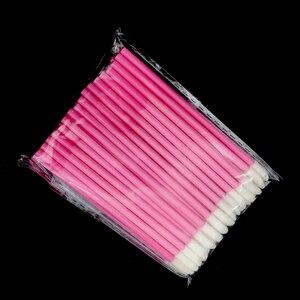 Image 5 - 1000 шт. одноразовых косметических искусственных помад, Кисть для макияжа, ручка, помада, тушь, палочки