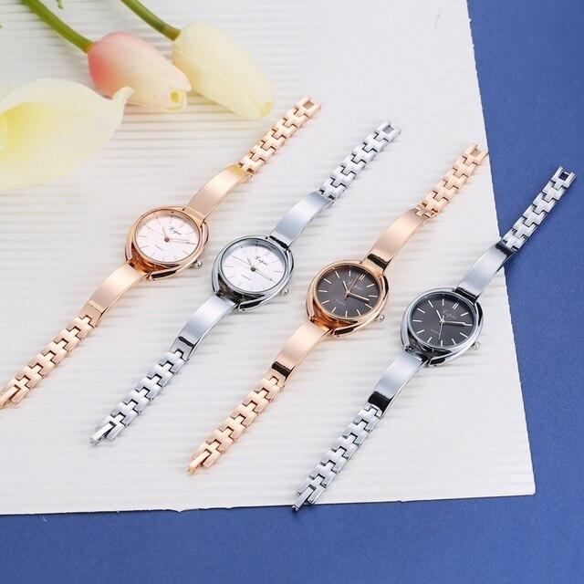 Luxury Women Watches Fashion Ladies Creative Wristwatch Sport Gold Quartz 6