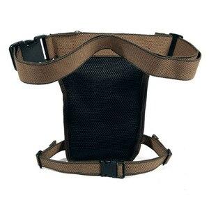 Image 2 - Mens Canvas Retro Drop Leg Bag Waist Fanny Pack Thigh Hip Bum Belt Military Hiking Motorcycle Cross Body Messenger Shoulder Bag