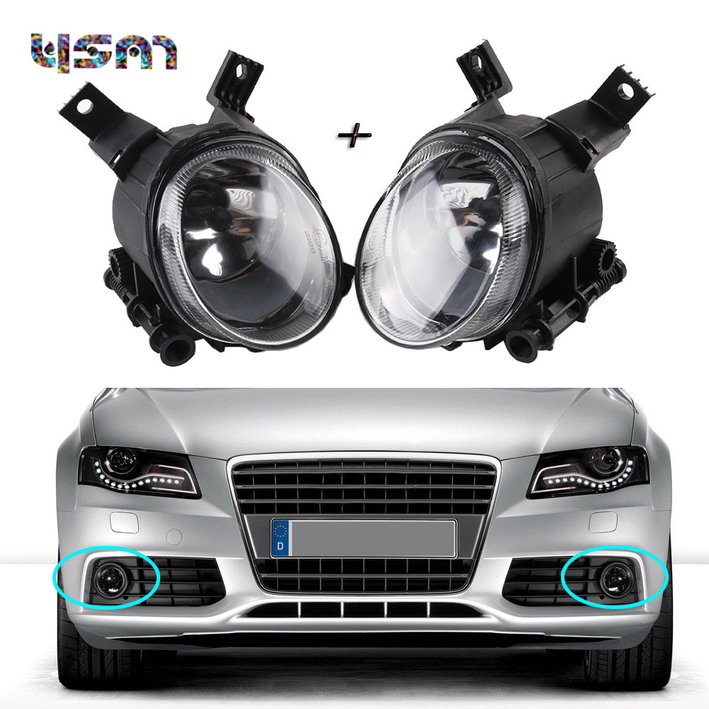 NEW Pair Front Halogen Fog Light Lamps For AUDI A4 B7 2005-2008 A3 S-Line 2004-2013 8E0 941 700 C 8E0 941 700C 8E0 941 699 C