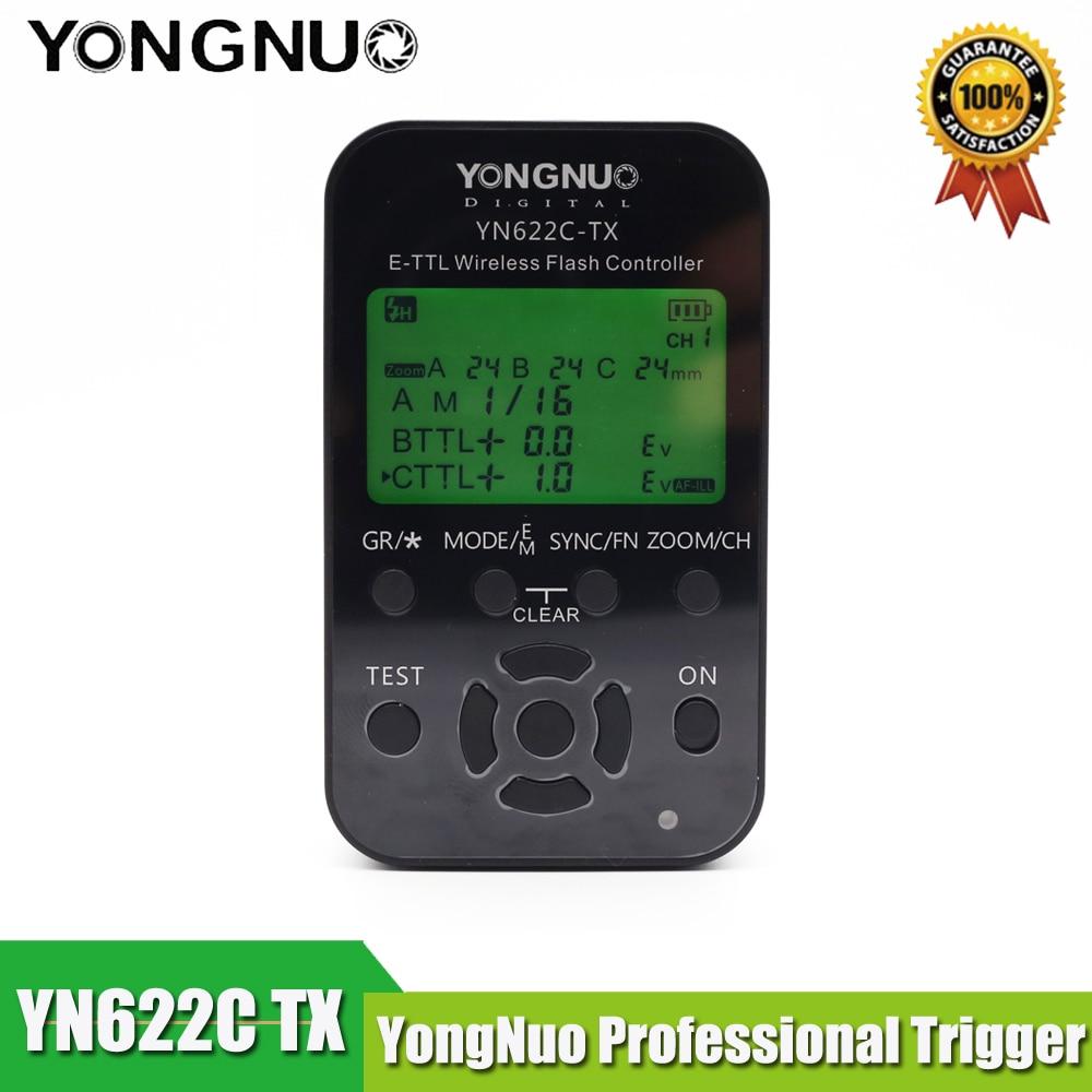 Jaunākais Yongnuo YN-622C-TX YN622C-TX LCD bezvadu e-TTL zibspuldzes - Kamera un fotoattēls