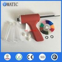 Free Shipping 10ml/cc Manual Syringe Dispenser Dispensing Single Liquid Epoxy Resin Glue Caulking Gun With Syringe & Needles