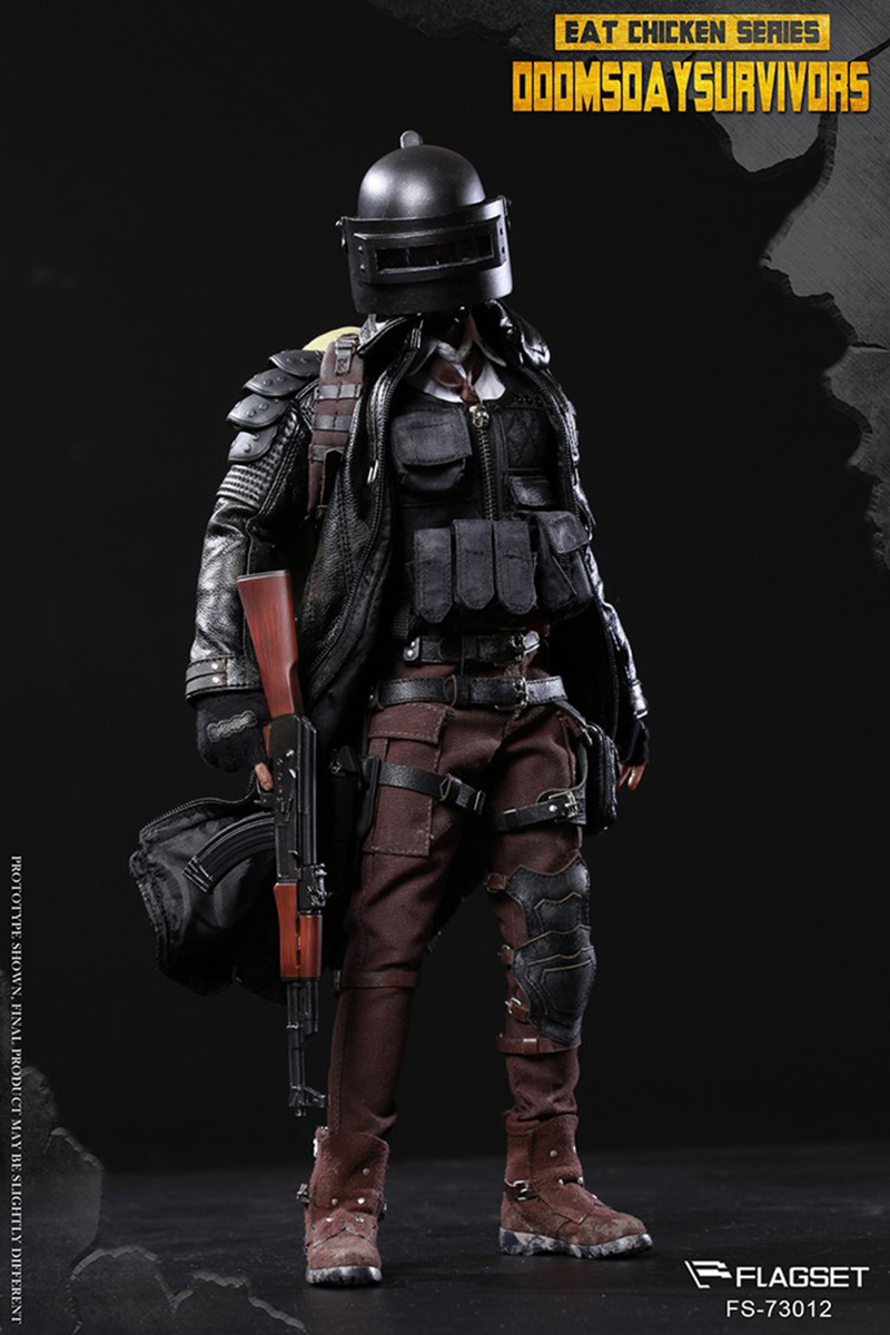 For collection GAME figure1/6 scale FLAGSET FS 73012 1:6 PUBG Doomsday survival sniper figure doll Full Set Christmas toy gift 1