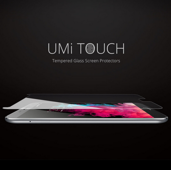 0.3mm 9H Tempered Glass Ultra Slim Clear Screen Protector front glass film Phone Parts For UMI TOUCH X Smart Phone><