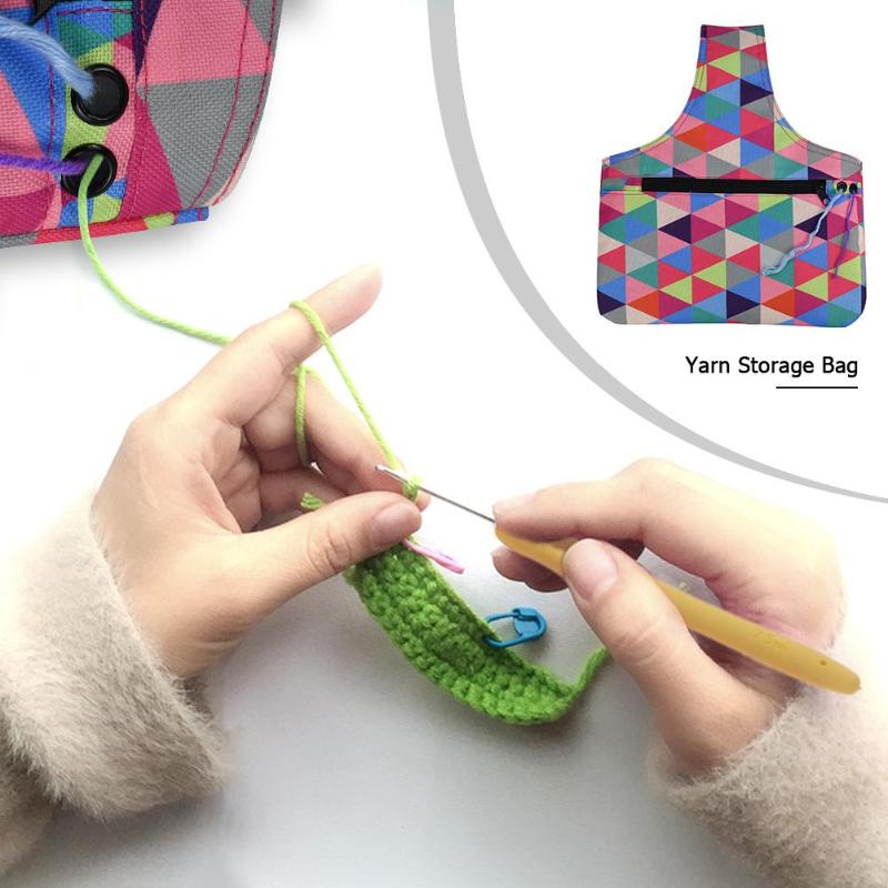 Portable Knitting Needle Storage Bag