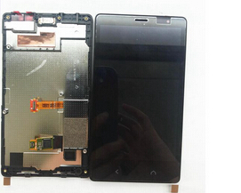 ФОТО For Nokia Lumia X2 Dual SIM RM-1013 Lcd Display+Touch Glass Digitizer+frame Assembly replacement