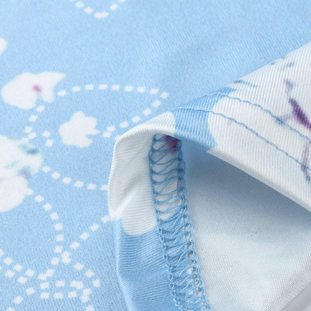 Women Maternity Sleeveless Zipper Floral Print Nursing Dress For Breastfeeding
