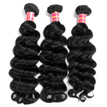 AddBeauty Natural Wave Brazilian Remy Human Hair Bundle Extensions 3 Piece 8-30 Inch Natural Color Weave For Black Woman Salon
