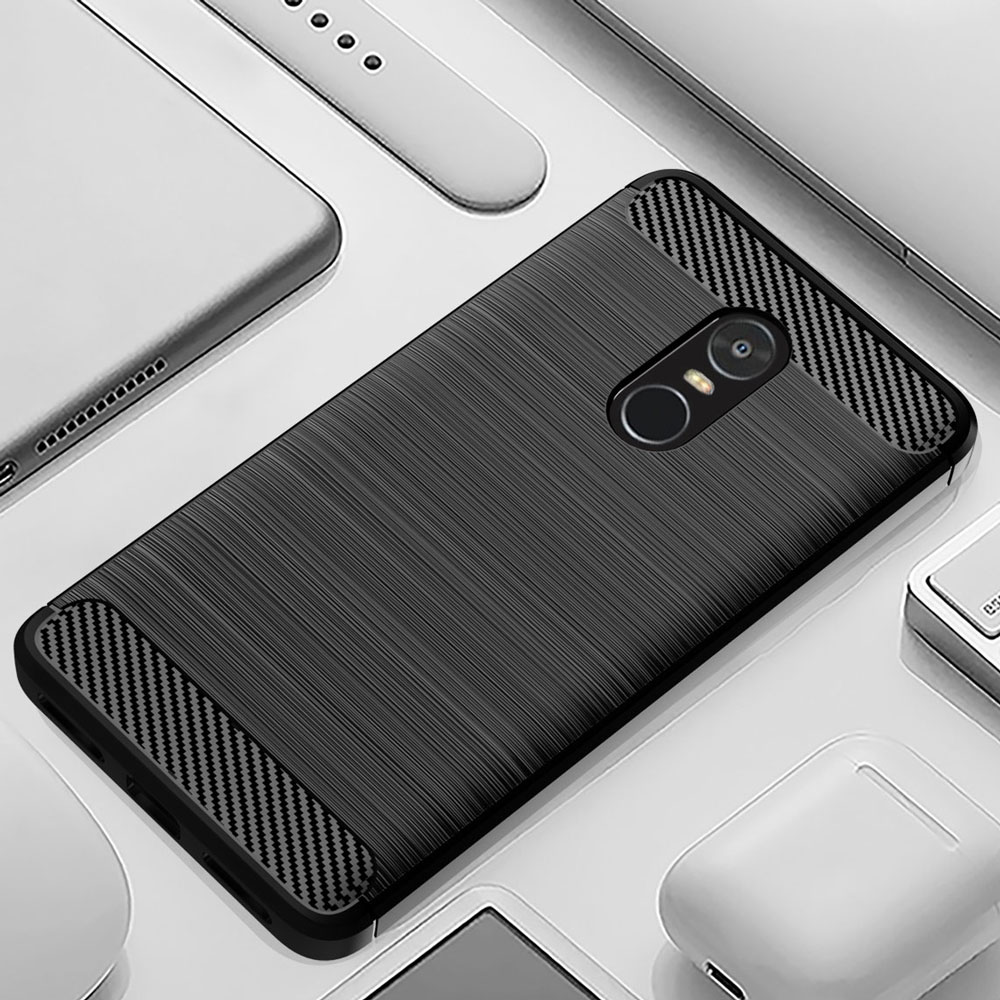 Phone Case For Xiaomi Redmi Note 4X Soft Carbon Style Protective Back Cover Silicon Redmi Note4 Global Version Note4X Pro 4XPro-in Half-wrapped Cases from Cellphones & Telecommunications