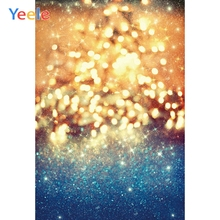 Yeele Professional Photography Backdrops Glitters Dreamy Bright Light Bokeh Baby Child Photographic Backgrounds For Photo Studio