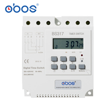 OBOS Three Phase 380VAC 16A MT317 Digital Timer Switch With Single Machine Input For Home And Factory