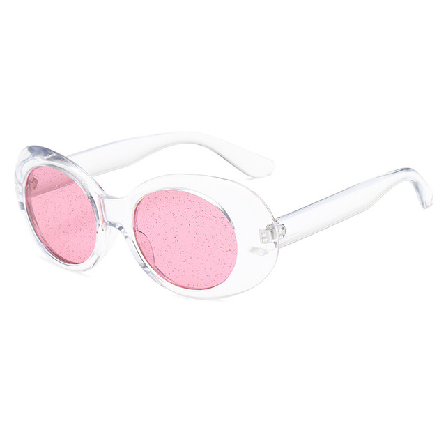 4e139964eaa Kaleidoscope Glasses Clear Clout Goggles Sunglasses Vintage NIRVANA Kurt  Cobain Sun Glasses Women Ocean Color Small Oval Glasses