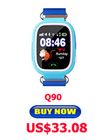 Child Smart Watch Q90 GPS LBS Positioning Children Smart Watch 1.22 Inch Touch Screen SOS Clock Tracker for Kid Safe Monitor#C1 26