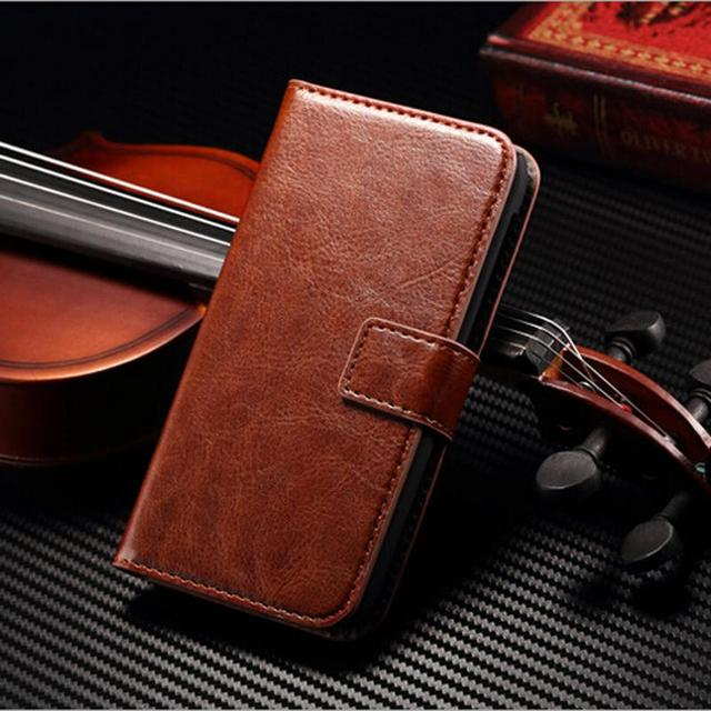 Luxury Retro Flip Leather Phone Cover For Nokia Lumia 630